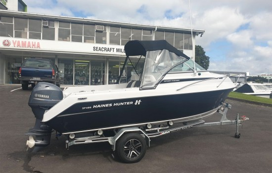 2020 Haines Hunter SF485 Sport Fisherman | Haines Hunter HQ